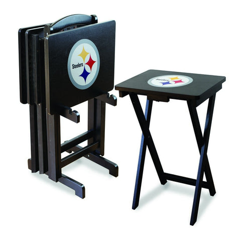 Imperial Pittsburgh Steelers TV Snack Tray Set