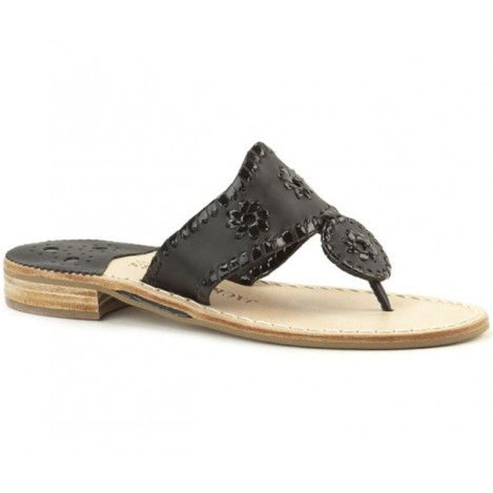 Jack Rogers Palm Beach Navajo - Black