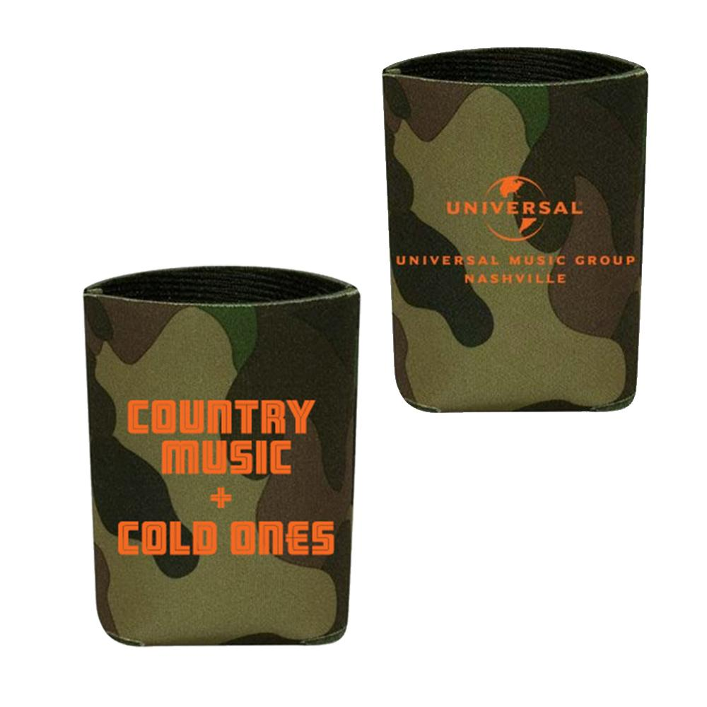 Country Music + Cold Ones Koozie