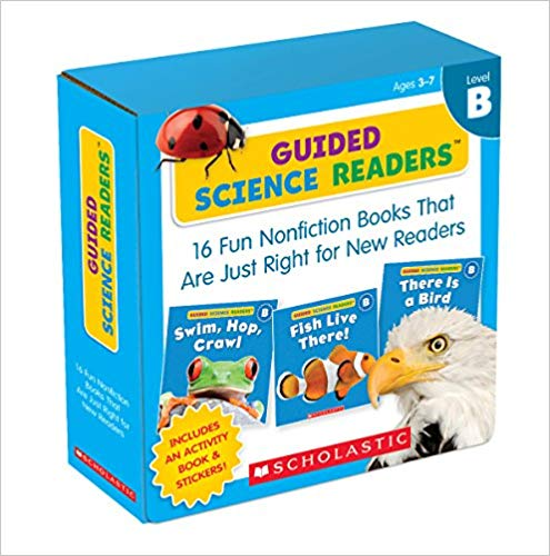 Guided Science Readers (Level B) for Mrs DuBois