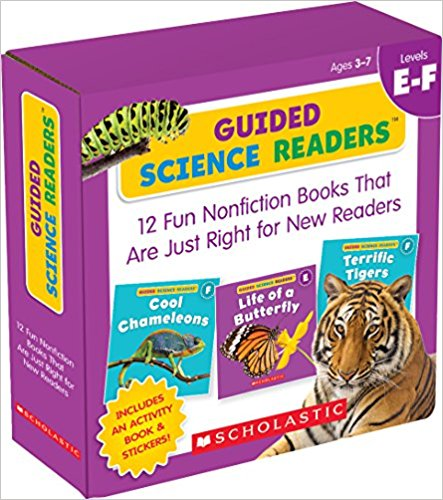 Guided Science Readers (Level E-F) for Mrs DuBois