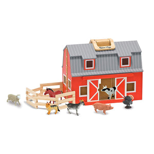 Fold and Go Barn for Mrs. Larsen