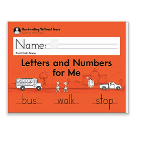 Letters and Numbers Student Workbook for Mrs. Lamb's Class