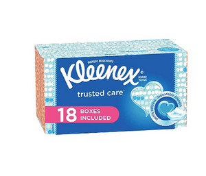 Kleenex Trusted Care Everyday Facial Tissues for MMA