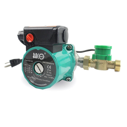 Circulating Pump for Tankless Water Heater