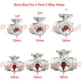 A100: Stainless Steel Ball Valve with A100 actuator(Do not sell separately)