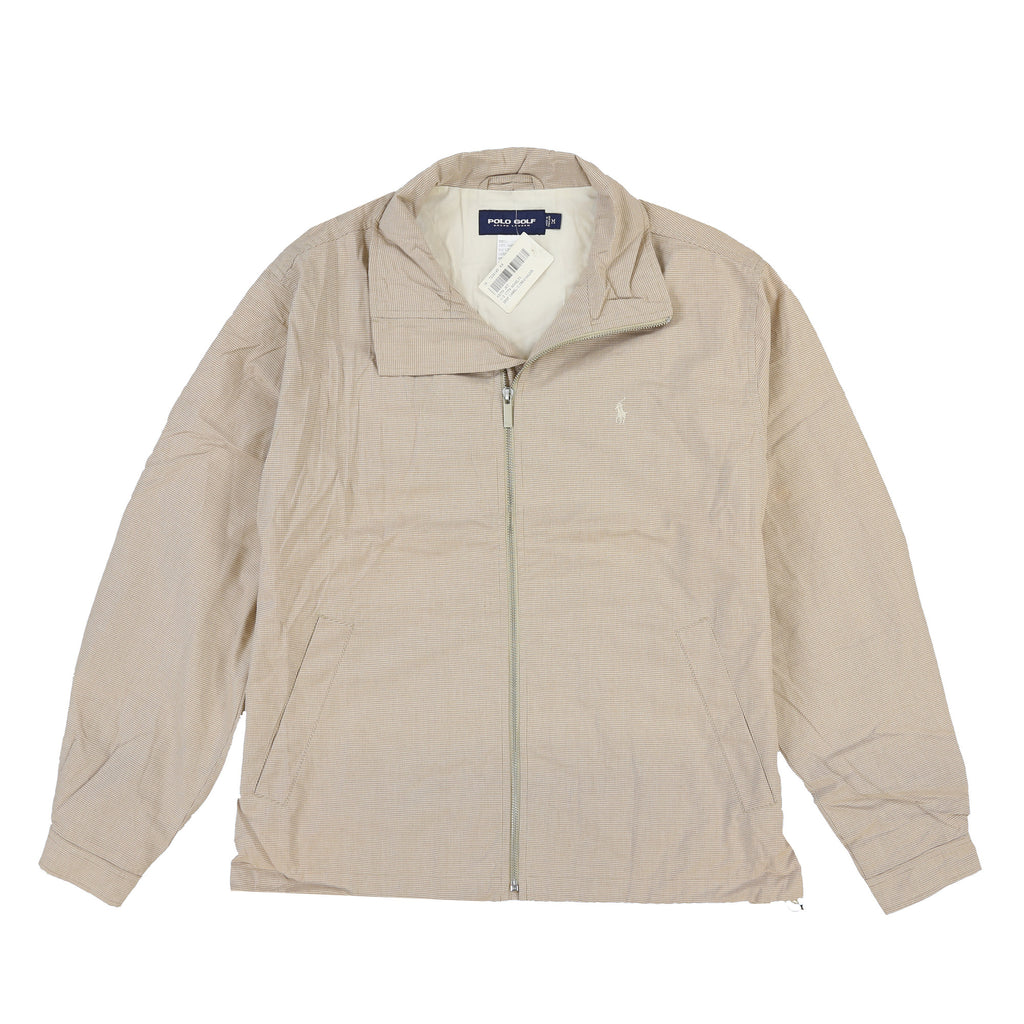 POLO GOLF KEITH HERRIGBONE JACKET // DEEP CAMEL