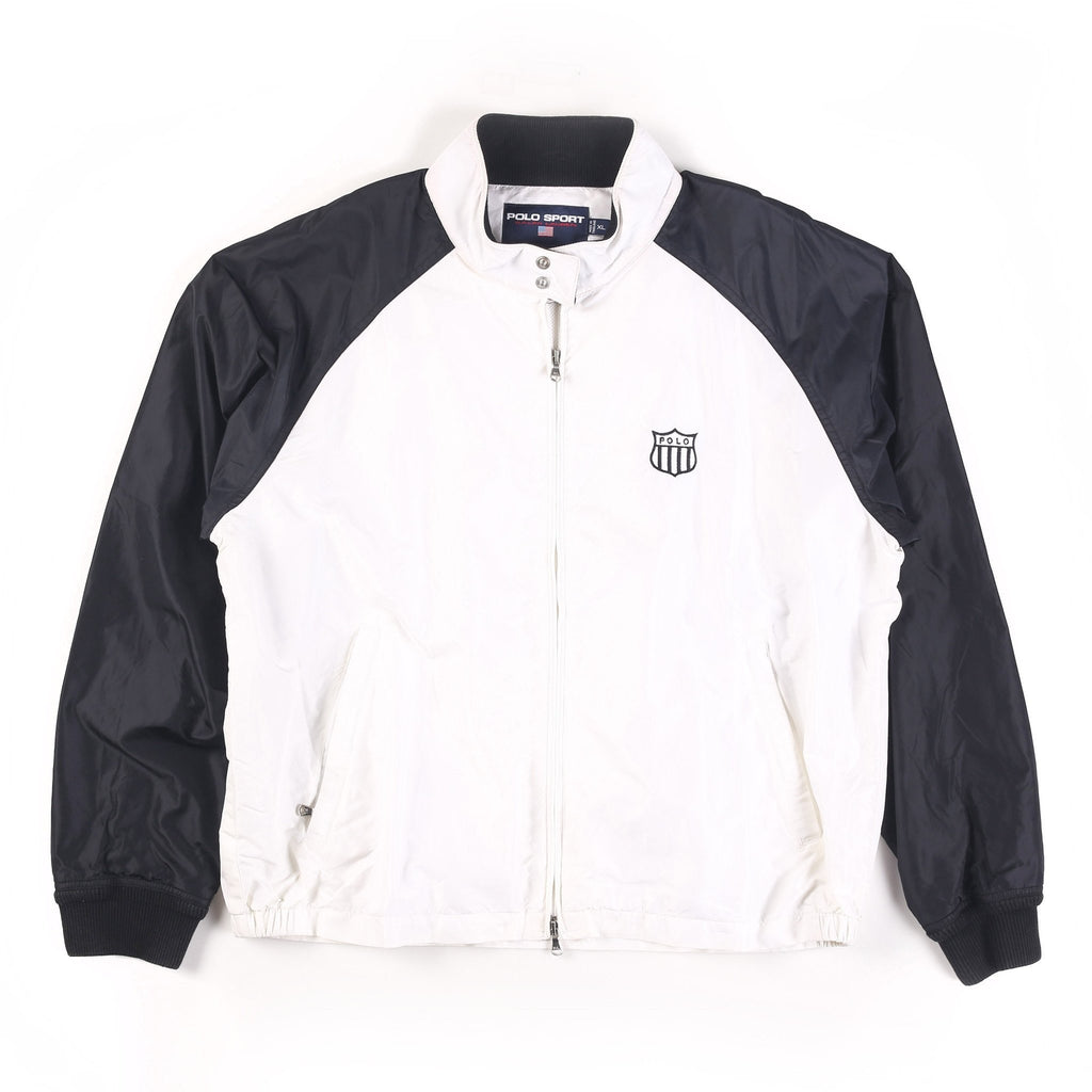 POLO SPORT OLYMPIC H 1992 SHIELD JACKET // WHITE