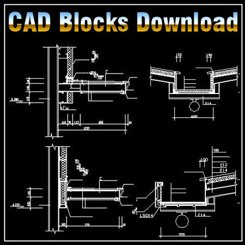 Steel Structure Blocks - CAD Design | Download CAD Drawings | AutoCAD Blocks | AutoCAD Symbols | CAD Drawings | Architecture Details│Landscape Details | See more about AutoCAD, Cad Drawing and Architecture Details