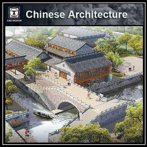 Chinese Architecture CAD Drawings-Chinese Pavilion,Garden Design - CAD Design | Download CAD Drawings | AutoCAD Blocks | AutoCAD Symbols | CAD Drawings | Architecture Details│Landscape Details | See more about AutoCAD, Cad Drawing and Architecture Details
