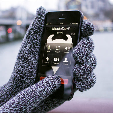 Soft-Knit Touchscreen Gloves for Phones and Tablets | Capacitouch