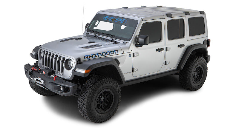 Rhino Rack Pioneer Platform Backbone Kit Jeep Wrangler