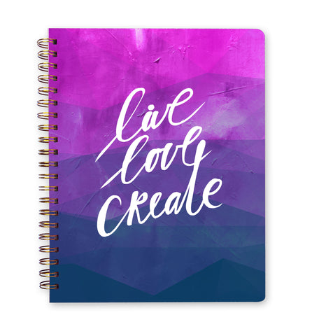 Inspired to Create | Ideas & Inspiration Creative Business Building Workbook + Calendar
