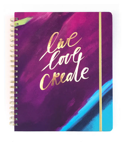 2019 Inspired Year Planner | Large - Live Love Create |
