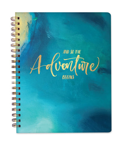 2019 Inspired Year Planner Softcover | Large - Adventure Begins