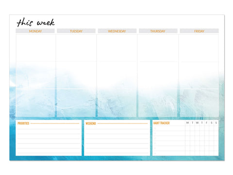 Weekly Planning Notepad