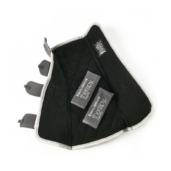 Equilibrium Therapy Magnetic Back Pad and Boots Set