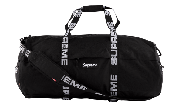 "SUPREME LARGE DUFFLE BAG ""SS18 BLACK"""