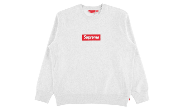 "SUPREME BOX LOGO CREWNECK ""GREY"""