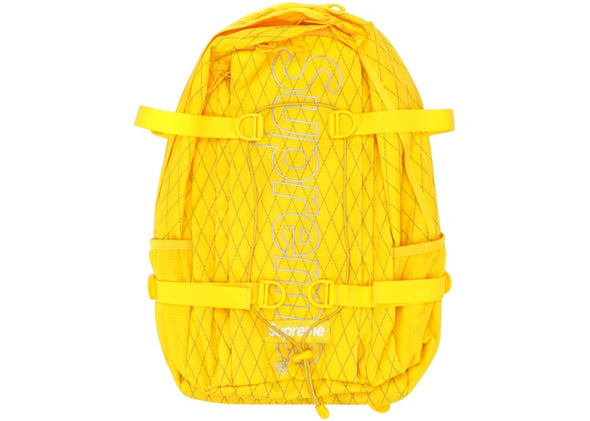 "SUPREME BACKPACK FW18 ""YELLOW"""