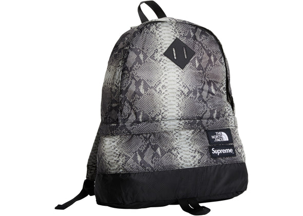 "SUPREME x TNF BACKPACK ""SNAKESKIN"""