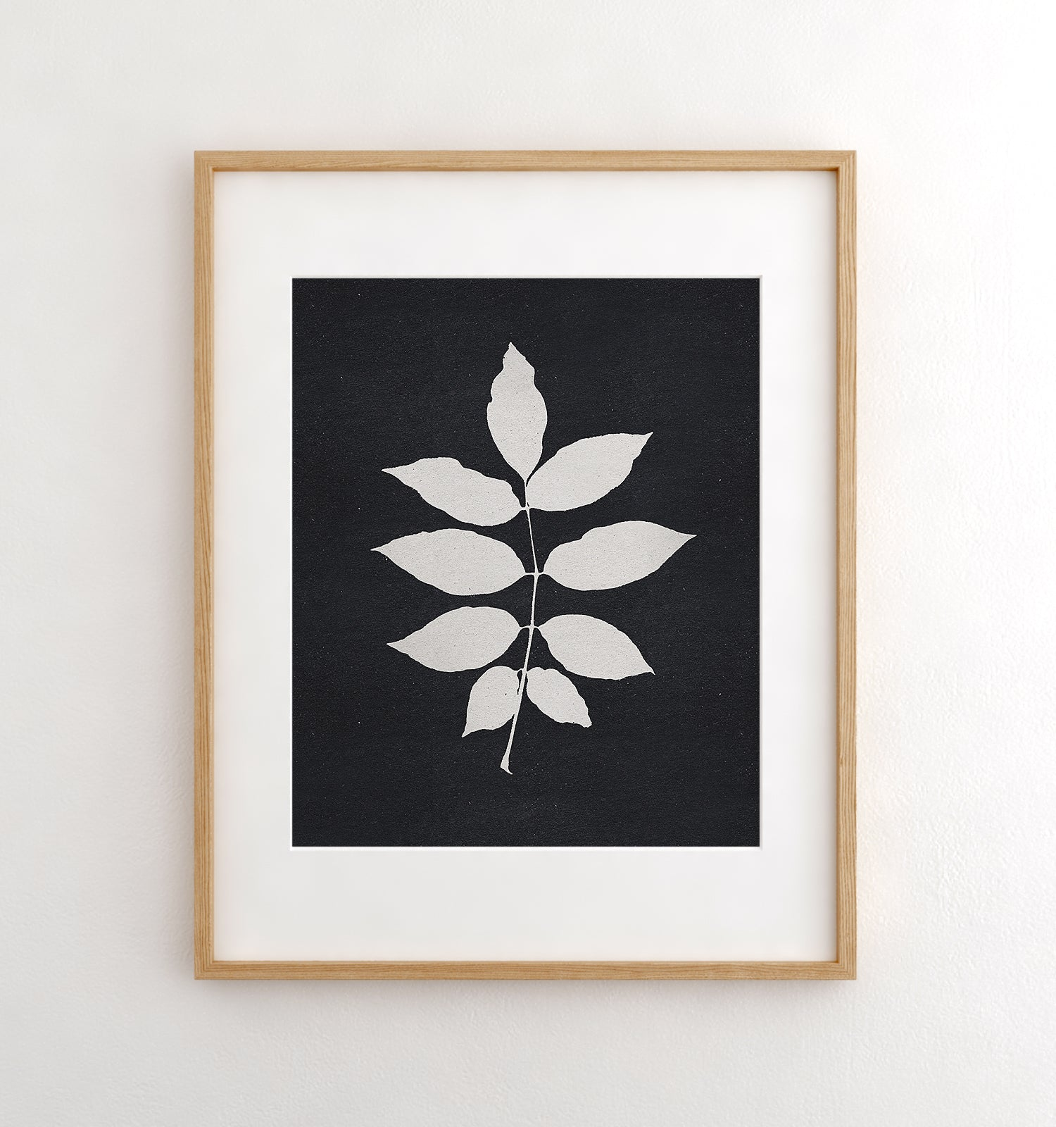 Botanical Silhouette No. 3 Printable Art