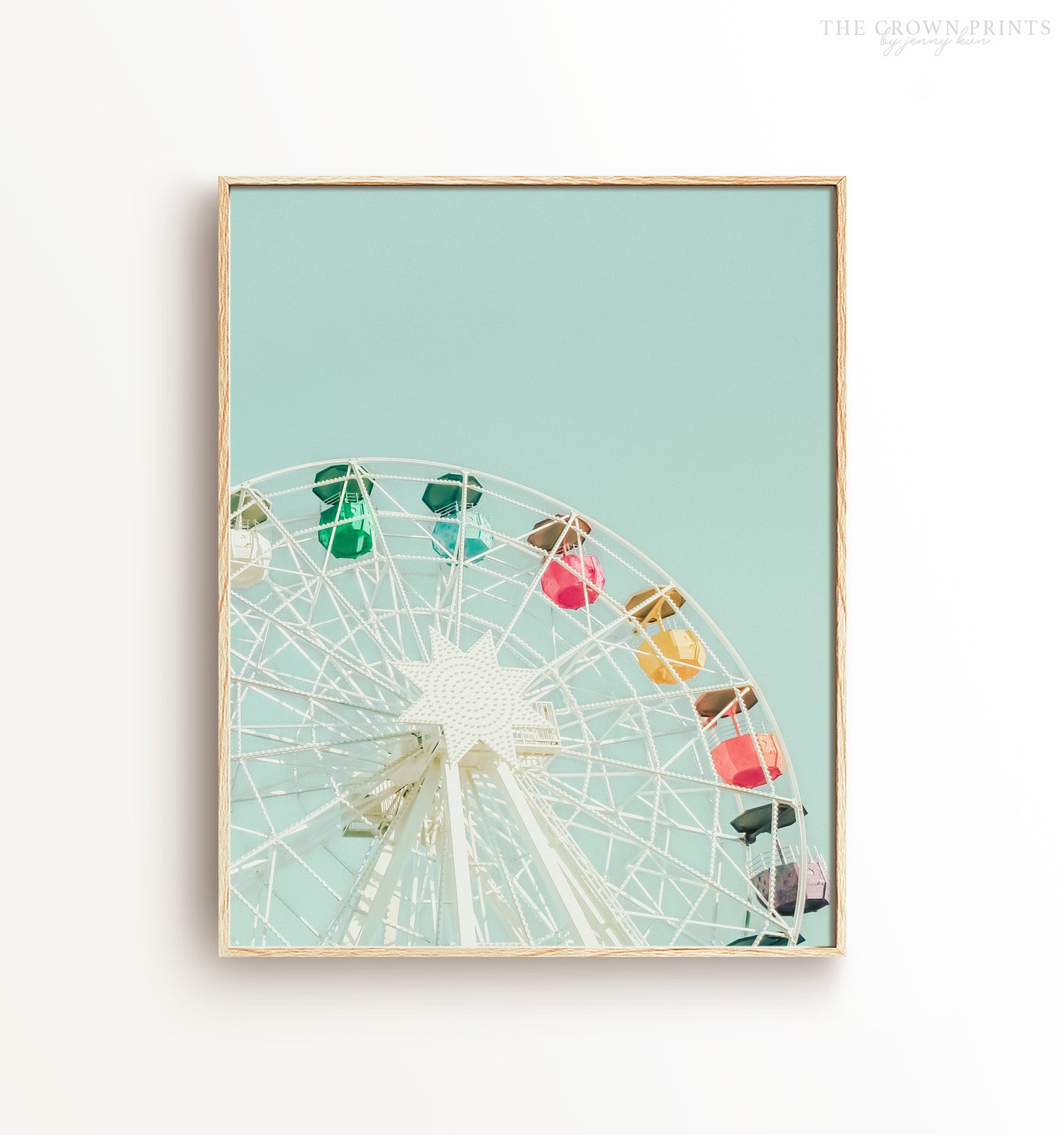 Ferris wheel Printable Art