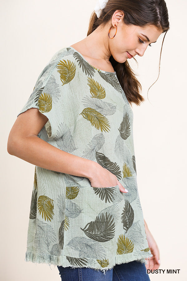 Tropicana Leaf Top
