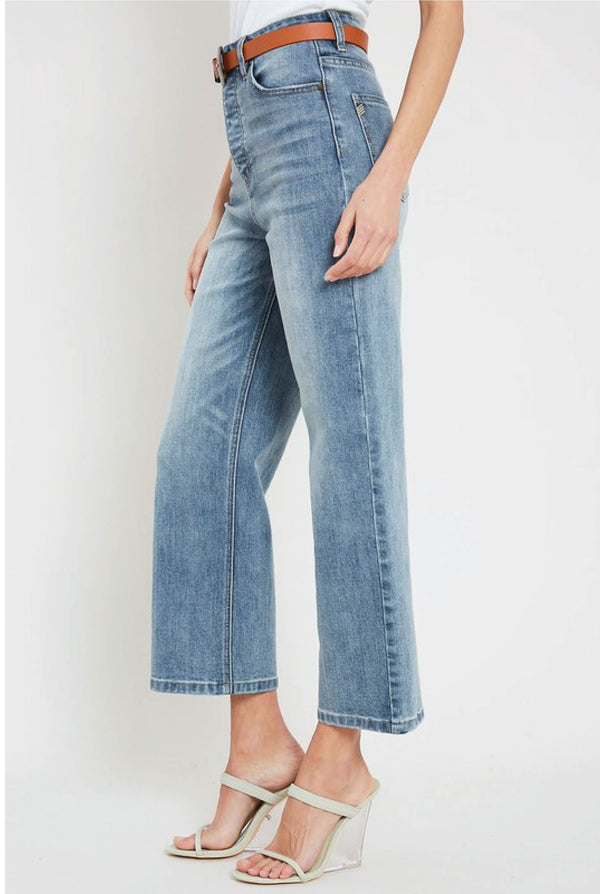 Bianca High Rise Jeans - Tucker Brown