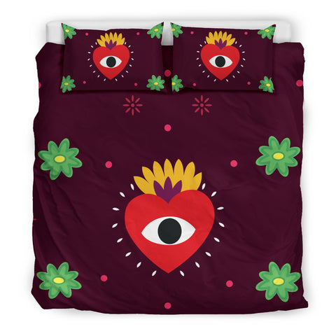 Eye Heart You Bedding Set