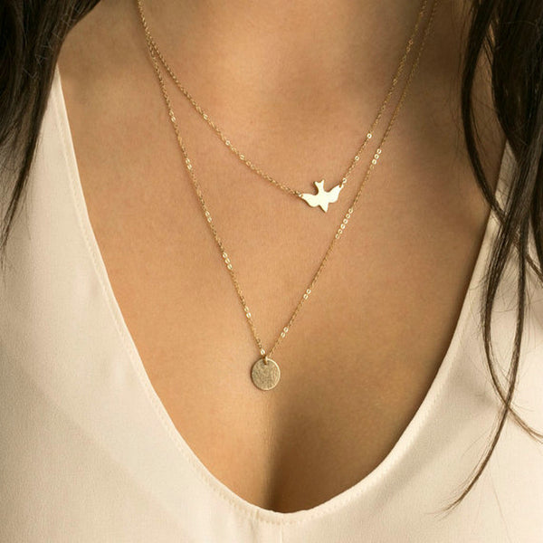 Take Flight My Love Necklace