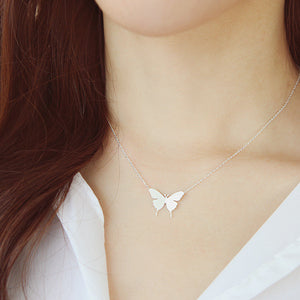 Autumn Butterfly Necklace