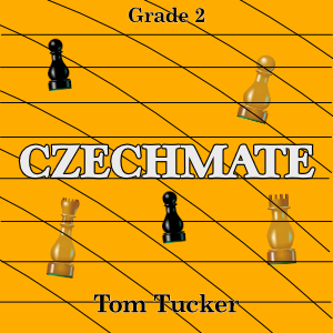 """Czechmate"" - composed by Tom Tucker,  Performance Level = Grade 2.  Band sheet music downloadable instantly in PDF format.  Cost = $ 24."