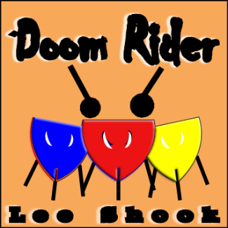"""Doom Rider"" - composed by Lee Shook,  Performance Level = Beginning Band.  Band sheet music downloadable instantly in PDF format.  Cost = $ 22."