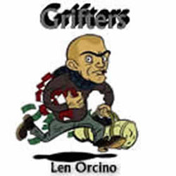 """Grifters"" - composed by Len Orcino,  Performance Level = Grade 3.  Band sheet music downloadable instantly in PDF format.  Cost = $ 24."