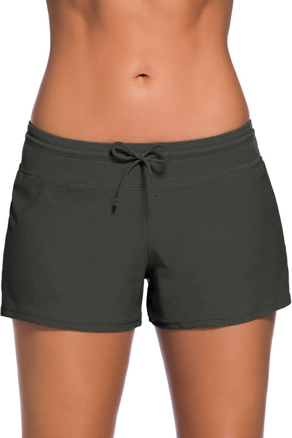 Women's Grey Swim Boardshort
