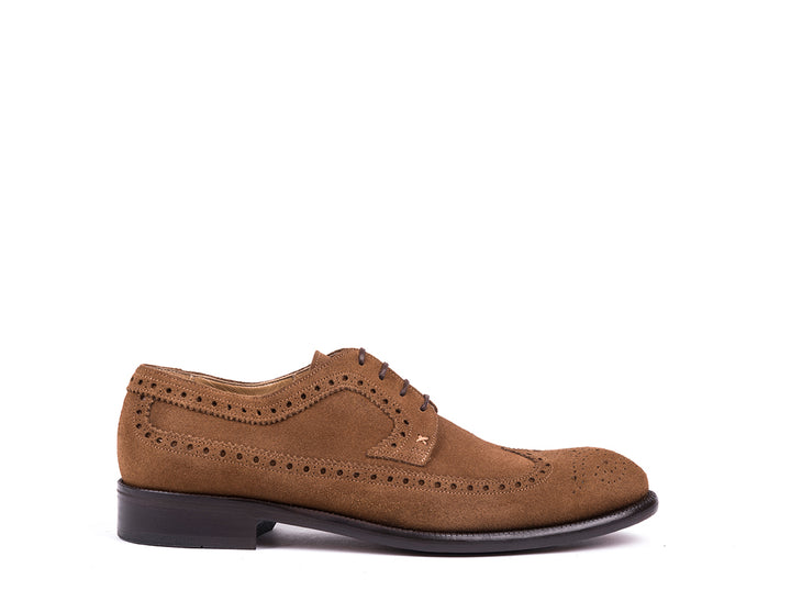 Brogue  // Brown Suede