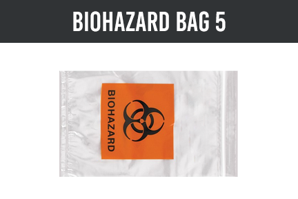 1 | Bag with Biohazard Markings