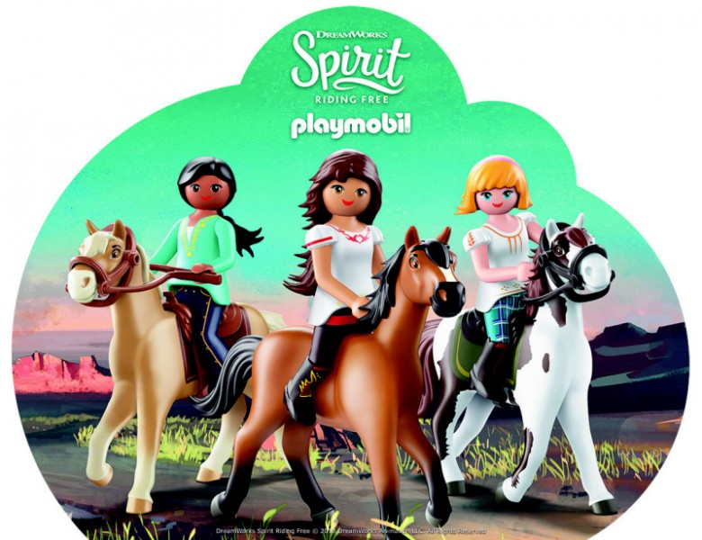 Playmobil Dreamworks Spirit: Riding Free