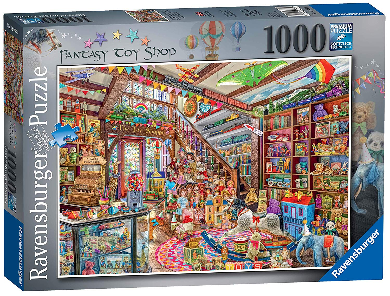 The Fantasy Toy Shop 1000pc Jigsaw Puzzle