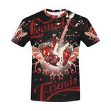 Leonid and Friends All over Guitar, All Over Print T-Shirt for Men (T40) - Sarx Clothing
