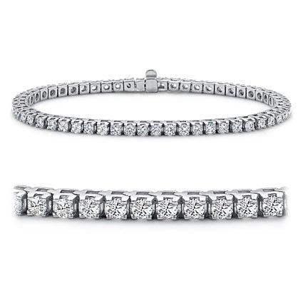 14K Diamond Tennis Bracelet # 10129592