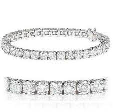 14K Diamond Tennis Bracelet 11.31 Carats #10129593