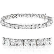 14K Diamond Tennis Bracelet 10.04 CTS # AK 70027