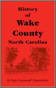 History of Wake County, North Carolina
