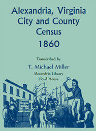 Alexandria, Virginia City and County Census, 1860
