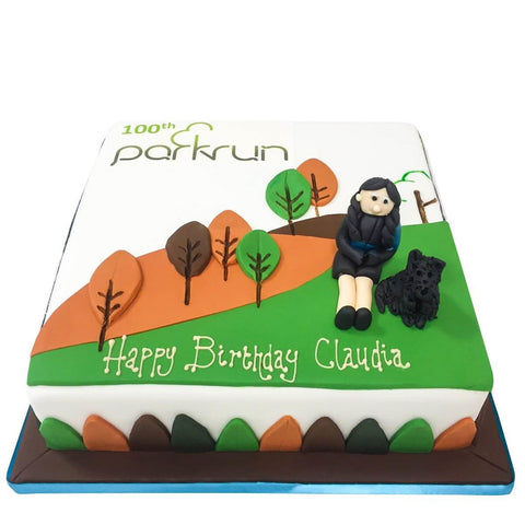 Parkrun Cake - Last minute cakes delivered tomorrow!
