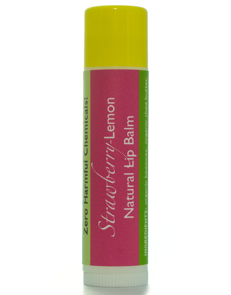 Strawberry-Lemonade Lip Balm