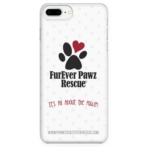 iPhone 7 Plus FurEver Pawz Rescue Collaboration Case with Ultra Slim Durable Profile