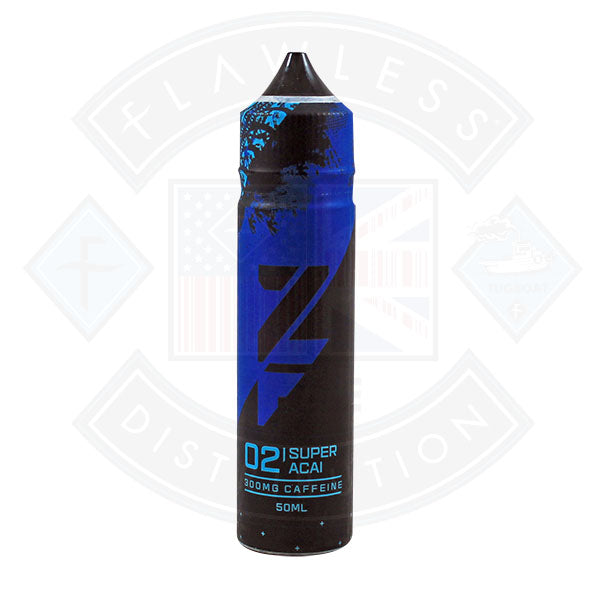 Zap! ZFUEL 02 Super Acai 50ml 300mg Caffeine Shortfill E-Liquid